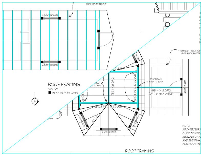 Coffee drive thru plans what 39 s included for Order roof trusses online